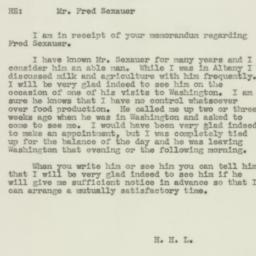 Letter : 1943 August 23