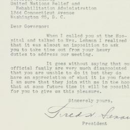 Letter : 1944 May 3