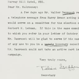 Letter : 1946 October 17