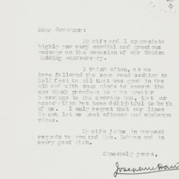 Letter : 1938 May 31