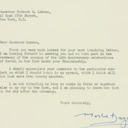 Letter : 1958 February 17