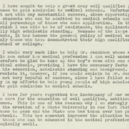 Letter : 1952 February 11