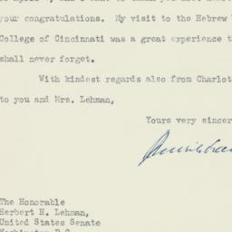 Letter : 1955 April 5