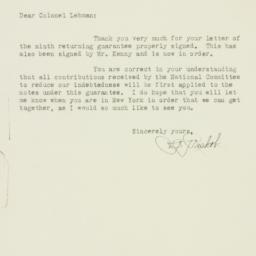 Letter : 1930 December 10