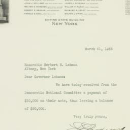 Letter : 1933 March 21