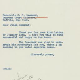 Letter : 1940 January 12