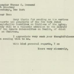 Letter: 1951 August 7