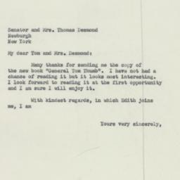Letter: 1954 March 23