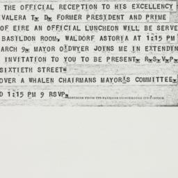 Telegram : 1948 March 6