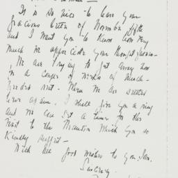 Letter : 1942 November 9