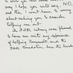 Letter: 1952 January 17