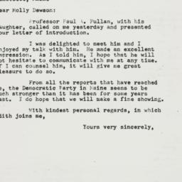 Letter : 1954 July 10