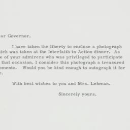 Letter : 1948 December 2