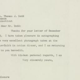 Letter: 1948 December 6