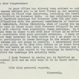 Letter: 1955 October 25