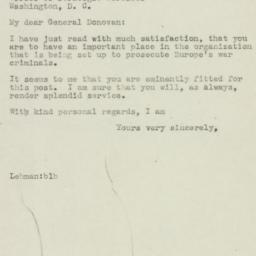 Letter : 1945 May 17