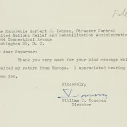 Letter : 1945 June 20