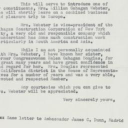 Letter : 1954 October 5
