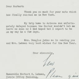 Letter : 1950 January 24