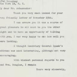Letter : 1959 November 30