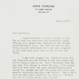 Letter : 1936 July 1