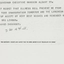 Telegram : 1936 December 31