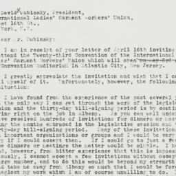 Letter : 1937 April 19
