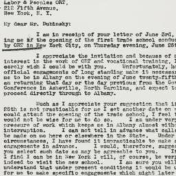 Letter : 1942 June 9