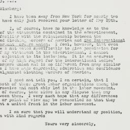 Letter : 1947 June 9