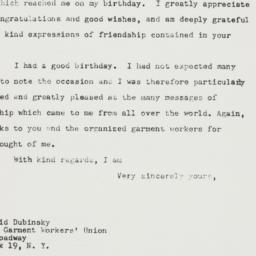 Letter : 1948 April 9
