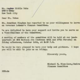Letter : 1949 October 8