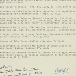 Letter : 1952 December 31