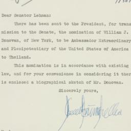 Letter : 1953 July 30
