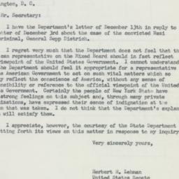 Letter : 1955 December 16