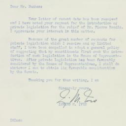 Letter : 1955 February 28