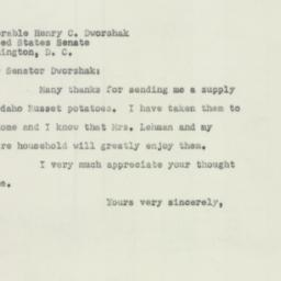 Letter : 1952 March 17