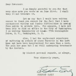 Letter : 1945 June 23