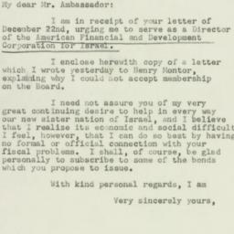 Letter : 1950 December 27