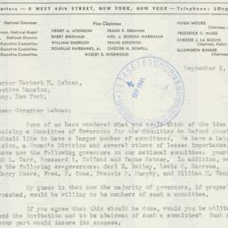 Letter : 1941 September 2