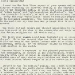 Letter : 1953 April 21