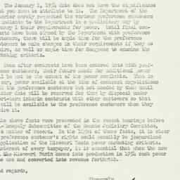 Letter: 1954 January 5