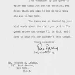 Letter : 1957 October 30