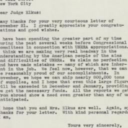 Letter : 1945 November 27