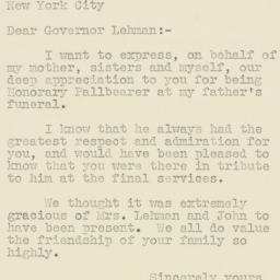 Letter : 1947 October 22