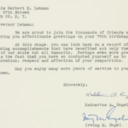 Letter : 1948 March 25
