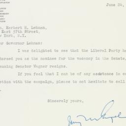Letter : 1949 June 24