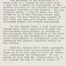 Letter : 1933 February 10