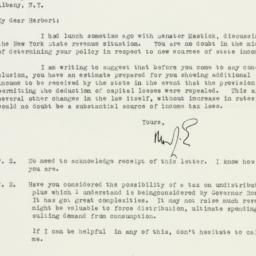 Letter : 1933 January 19