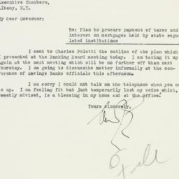 Letter : 1933 April 20