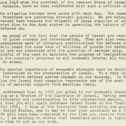 Letter : 1956 January 26